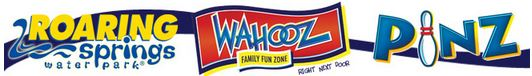 Roaring Springs Water Park; Wahooz Family Fun Zone; Pinz Bowling Center